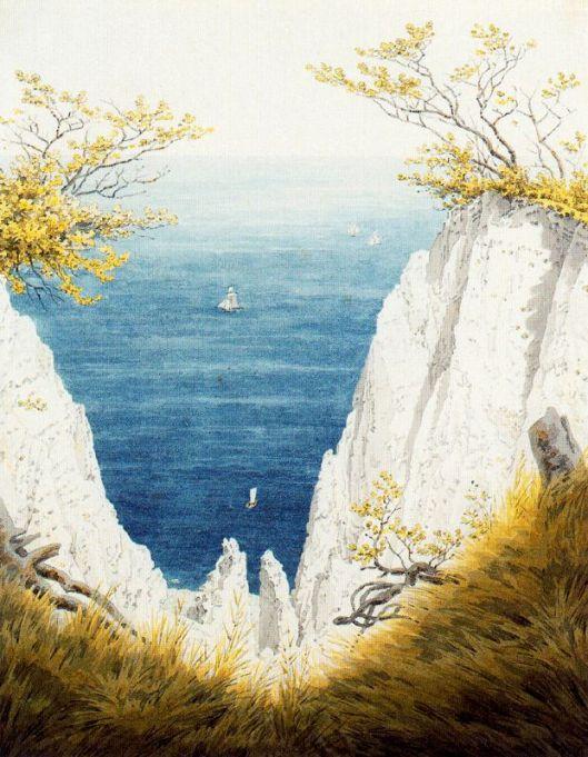 You'll have quite a view this year, Aries. Caspar David Friedrich c1825 {{PD}}