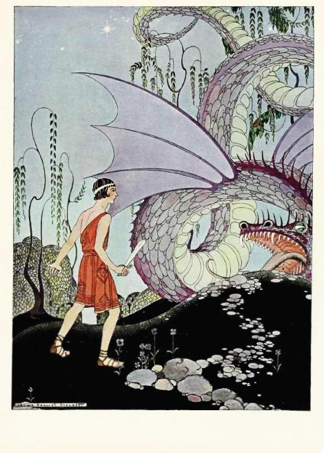 The only dragon you have to slay this year, dear Pisces, is the one that may tempt you to feel sorry for yourself. Virginia Frances Sterrett 1923 {{PD}}