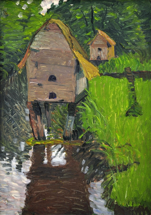'Entenhäuser' (Duck Houses) by August Haake c1914 {{PD}}