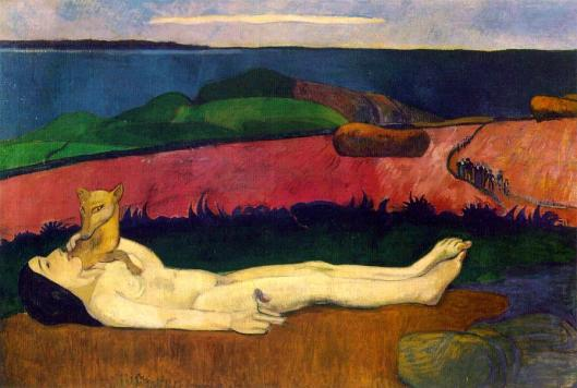 Go ahead, get out of that endless loop, Taurus. Paul Gauguin 'The Loss of Virginity' 1890 {{PD}}