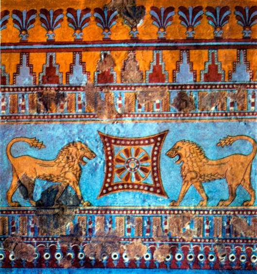 Those ignored things you need to confront won't be anything you can't handle, Aries. Urartian Fresco {{PD}}