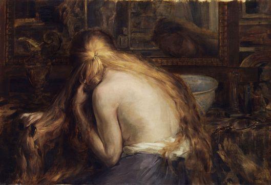 'Hymne à la femme (Bezeichnung auf dem Rahmen)' Auguste Levêque 1909 {{PD}}