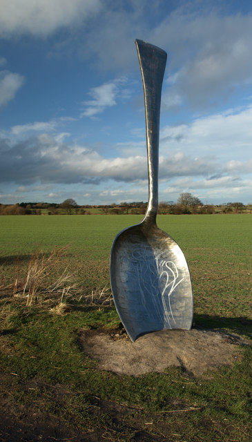 "This Moon is perfect for spooning! ""Eat For England Spoon - geograph.org.uk - 711068"" by Kevin Richardson. Licensed under CC BY-SA 2.0 via Wikimedia Commons - http://commons.wikimedia.org/wiki/File:Eat_For_England_Spoon_-_geograph.org.uk_-_711068.jpg#/media/File:Eat_For_England_Spoon_-_geograph.org.uk_-_711068.jpg"