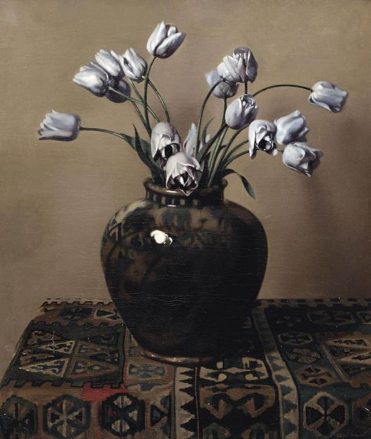 Take a step back and inspect your real-life results, Taurus. Willem Witsen - 'Still life with tulips in a jar' {{PD}}