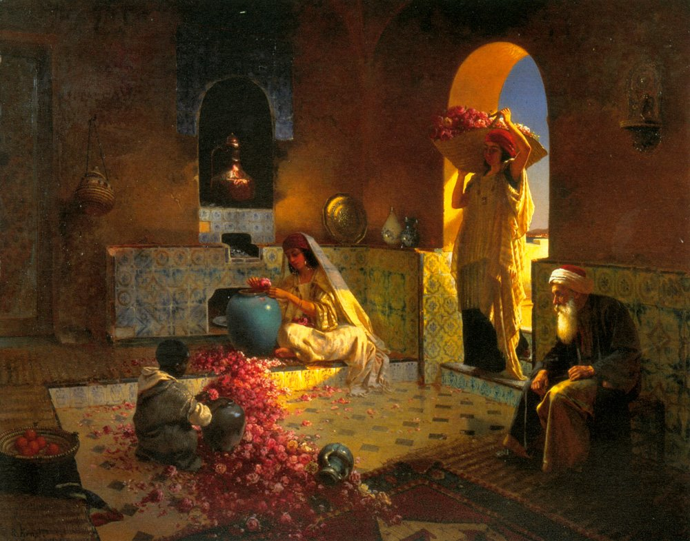 Rudolf Ernst 'The Perfume Maker' 19th century or 20th century, but before 1932 {{PD}}