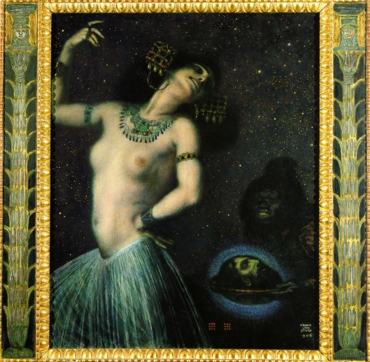 The good news is you won't lose your head, Gemini. Franz von Stuck 'Salome II'