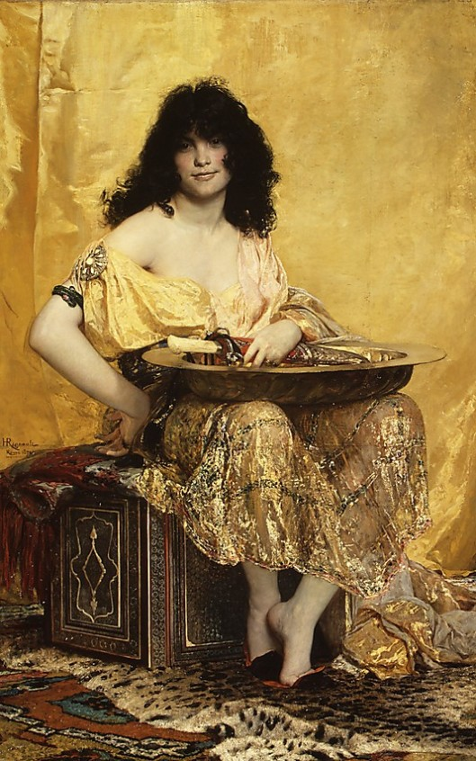 YOu could be golden this year, Gemini. Henri Regnault, 'Salomé' 1869 {{PD}}