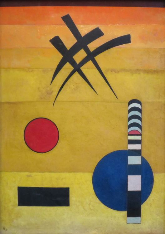 'Sign' by Wassily Kandinsky, 1925 {{PD}}