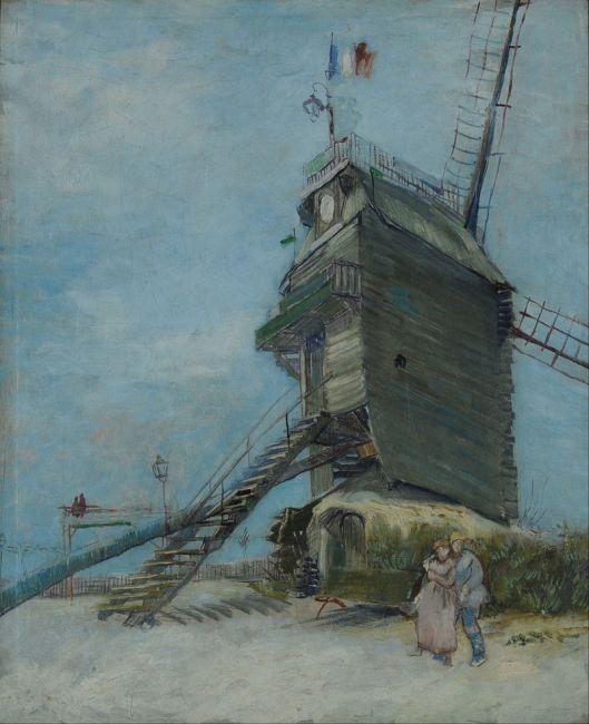 'Le Moulin de la Galette', by Vincent van Gogh, Museo Nacional de Bellas Artes
