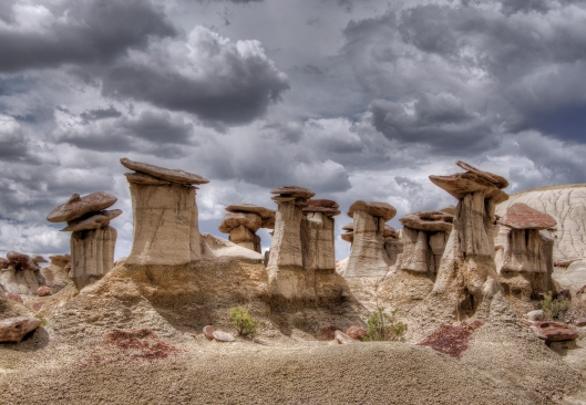 Hoodoos at Ah-Shi-Sle-Pah Wilderness Area. Northwestern New Mexico. Ah-Shi-Sle-Pah Photo by John Fowler from Placitas, NM, USA Creative Commons Attribution 2.0 Generic
