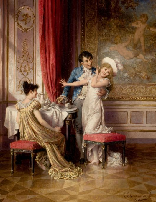 Carl Schweninger the Younger 'Not Willing' 19th century {{PD}}