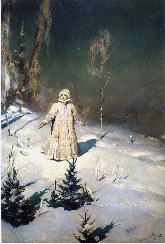 Viktor Vasnetsov 'Snegurochka' 1898 {{PD}}