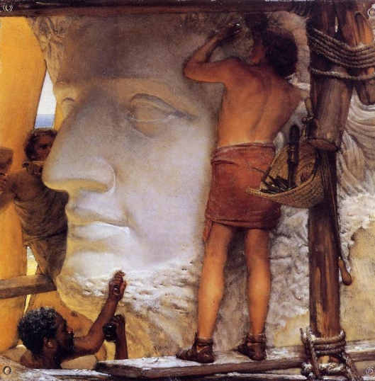 You can find the right form today for big creative ideas. Sculptors in Ancient Rome oil on copper by Sir Lawrence Alma-Tadema (1877) {{PD}}