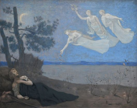 'Le Reve' (The Dream)-Puvis de Chavannes-Orsay 1882 {{PD}}