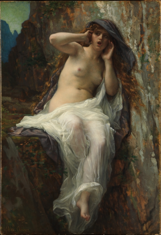Alexandre Cabanel - 'Echo' 1874 {{PD}}
