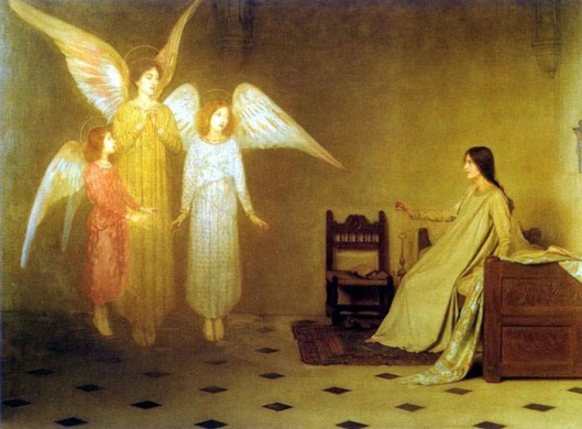 'The Awakening' Thomas Cooper Gotch {{PD}}