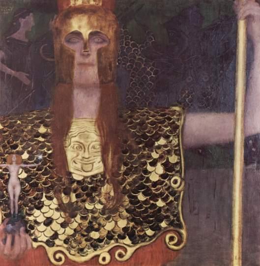 'Pallas Athena' Klimt 1898 {{PD}}