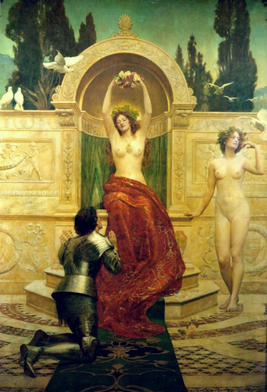 Sure, women can be Plutonian, and it doesn't mean she'll devour you, either! John Collier 'In the Venusberg Tannhäuser' 1901 {{PD}}