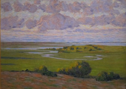 Author Arthur Wesley Dow 'Lavender and Green' 1912 {{PD}}
