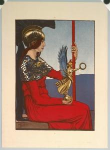 Maximilian Liebenwein 'Pallas Athene' 1906 {{PD}}