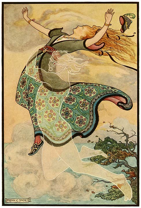"Illustration from ""The Russian Story Book"" by Richard Wilson, illustrated by Frank C. Papé, 1916 {{PD}}"