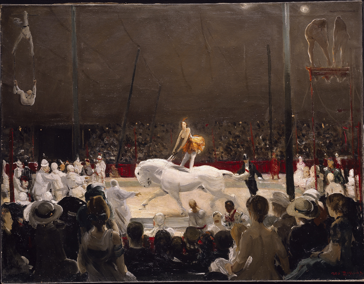George Bellows 'The Circus' 1912 {{PD}}