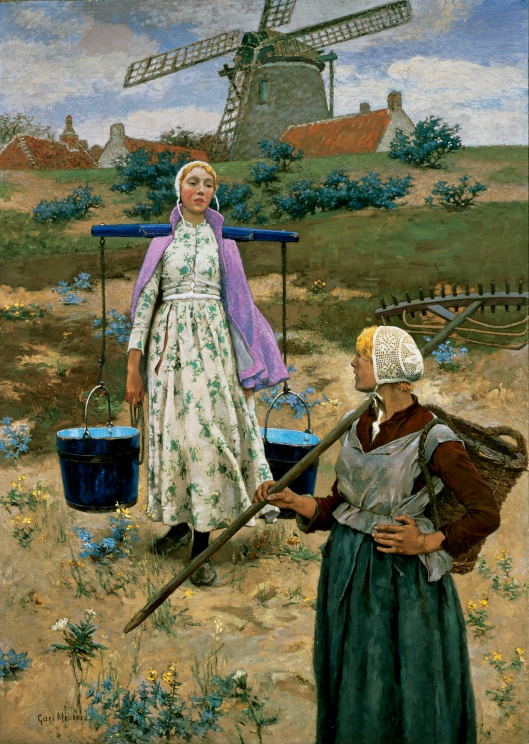 'In den Dünen' Gari Melchers 1891 {{PD}}