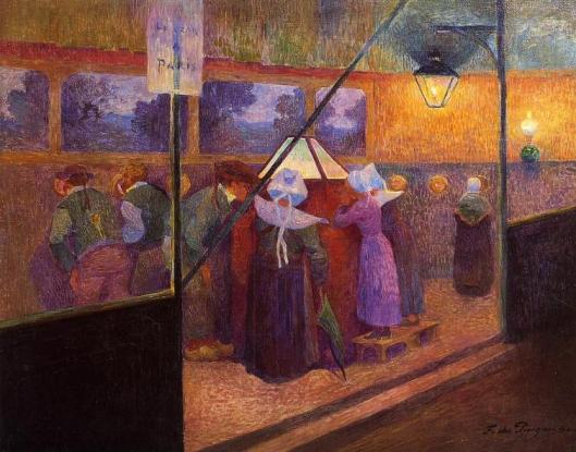 Ferdinand du Puigaudeau,- 'The Magic Lantern' c1900 {{PD}}