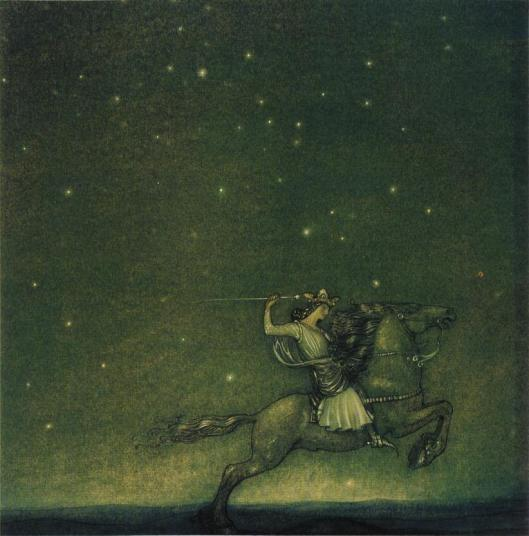 Rider by John Bauer 1914 {{PD}}
