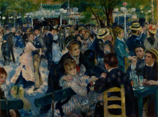 Auguste Renoir - Dance at Le Moulin de la Galette 1875 {{PD}}