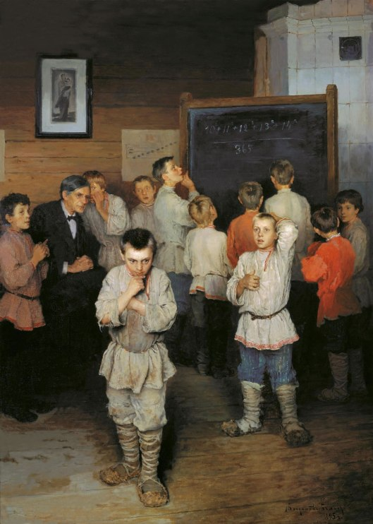 'Ustny Schet' Nikolay Bogdanov-Belsky {{PD}}