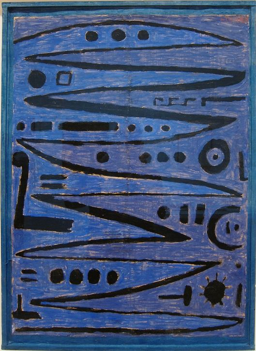 'Heroic Strokes of the Bow' Paul Klee Collection of MoMA {{PD}}