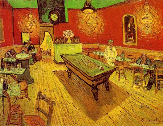 "Vincent van Gogh ""The Night Café"", 1888 {{PD}}"