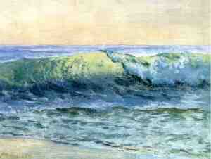 'The Wave' 1880 Albert Bierstadt {{PD}}
