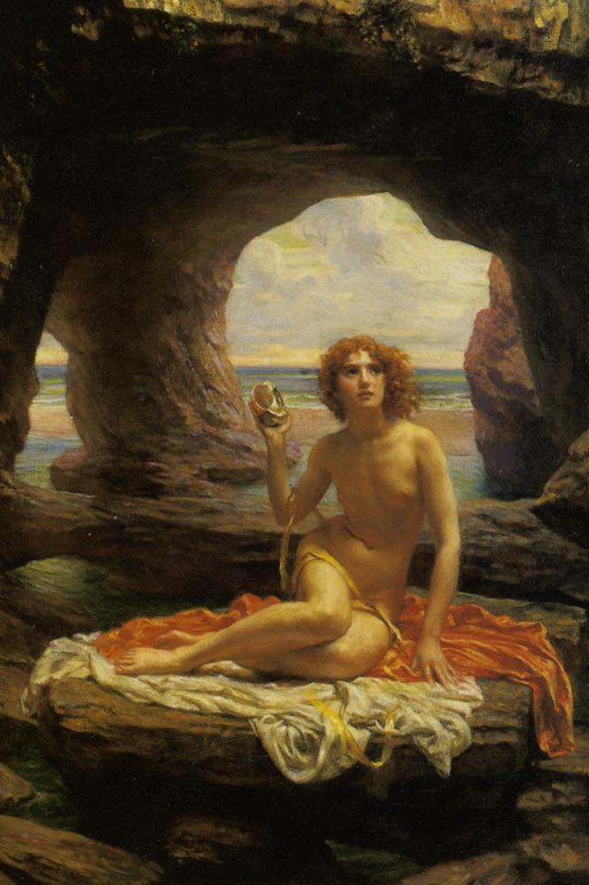 'At Low Tide' Edward James Poynter 1896 {{PD}}