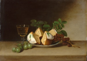 'Still Life with Cake' Raphaelle Peale 1817 {{PD}}