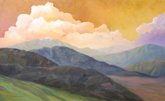 Yucaipa Mountains by David Fairrington Oil 2010 http://www.flickr.com/photos/fairrington/6341395850/ Creative Commons Attribution-Share Alike 2.0 Generic