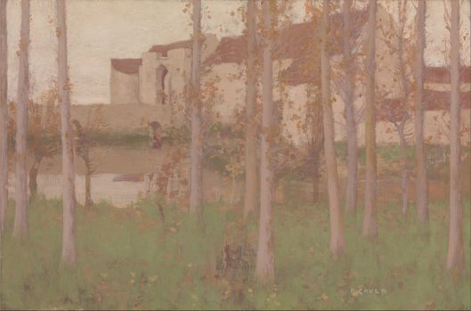 David Gauld - T'he Haunted Chateau, Grez-sur-Loing' 1896 {{PD}}