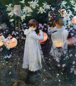 'Carnation, Lily, Lily, Rose', 1885-86 John Singer Sargent {{PD}}