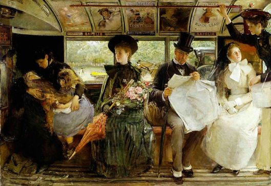 George William Joy - 'The Bayswater Omnibus' c1900 {{PD}}