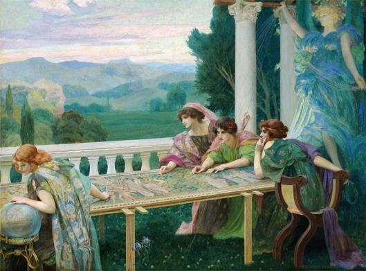 'Le Destin' Henry Siddons Mowbray c1895 {{PD}}