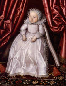 Oh, the faces in these old portraits of children. 'A Baby, said to be Lady Waugh' by William Larkin {{PD}}