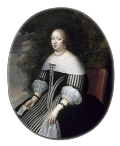Feels her note could've been better. Anna of Austria by Charles Beaubrun 17th century {{PD}}