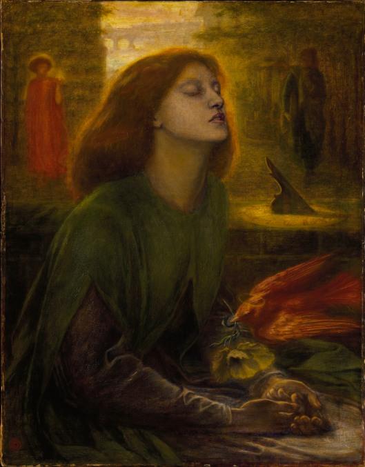 Dante Gabriel Rossetti: Beata Beatrix, ca 1864-70 {{PD}}