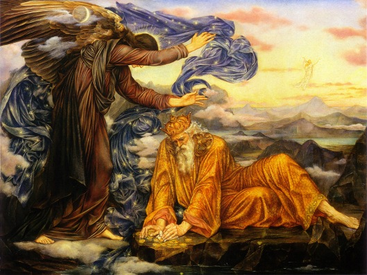 Gain is possible in many forms today. 'Earthbound' Evelyn De Morgan 1896 {{PD}}