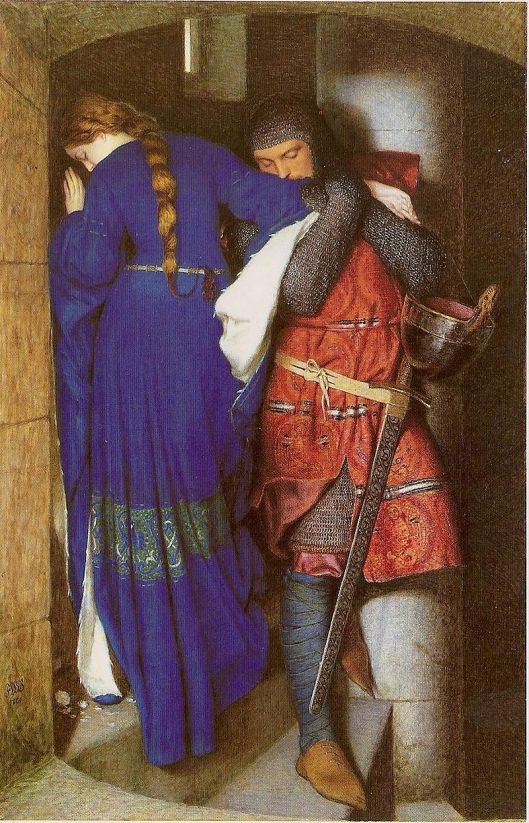 She comes within orb, and he has an effect, like it or not. Frederic William Burton 1863 {{PD}}
