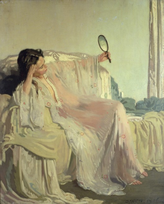 William Orpen 'The Eastern Gown' 1905 {{PD}}
