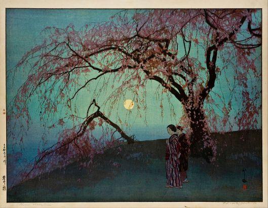 Hiroshi Yoshida - Kumoi-Zakura (Kumoi Cherry Trees) 1919 {{PD}}