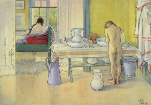 Carl Larsson 'Summer Morning' 1908 {{PD}}