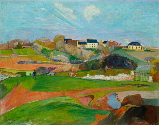 'Paysage au Pouldu' Paul Gauguin 1889 {{PD}}